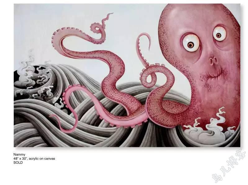 插画 | 东西文化的融合 —— 旅美蒙古女画家  Solongo Mellecker 插画作品欣赏 第4张