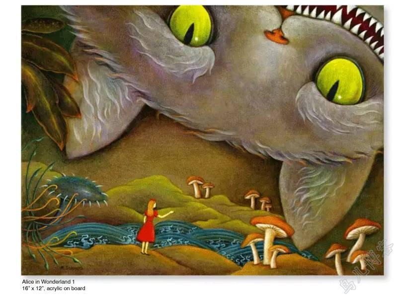插画 | 东西文化的融合 —— 旅美蒙古女画家  Solongo Mellecker 插画作品欣赏 第15张