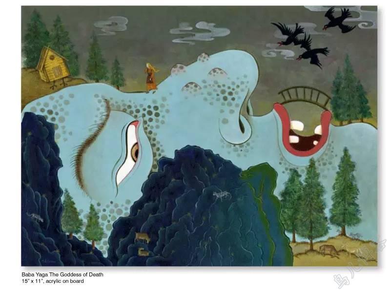 插画 | 东西文化的融合 —— 旅美蒙古女画家  Solongo Mellecker 插画作品欣赏 第14张
