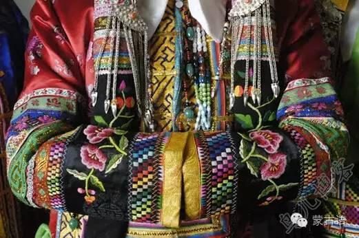 传统蒙古族刺绣