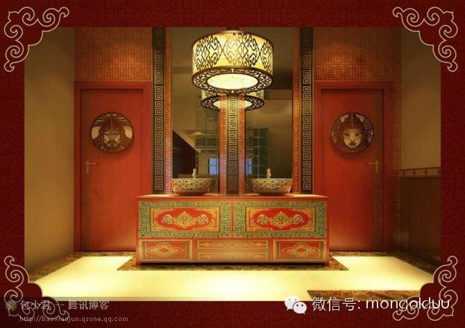 蒙古装修风格图片