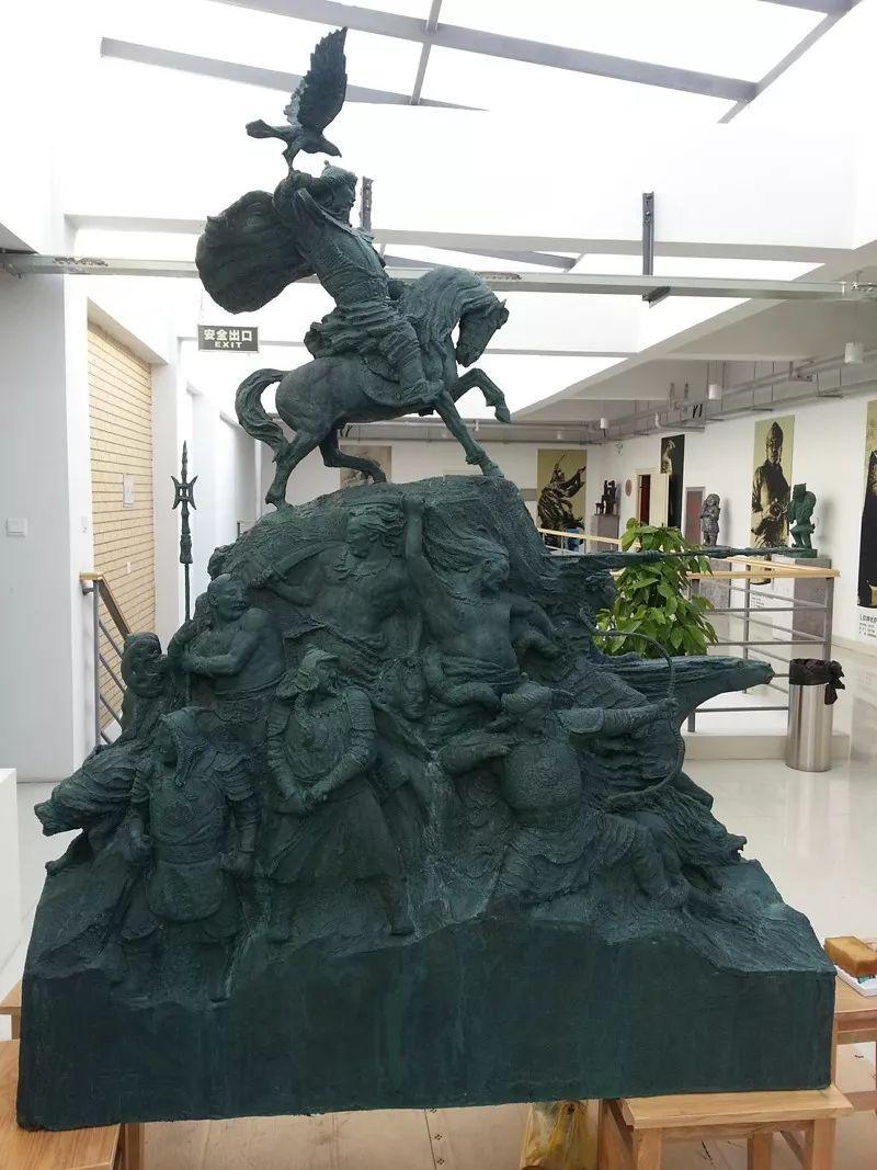 艺术家笔下的蒙古马•雕塑篇 第3张