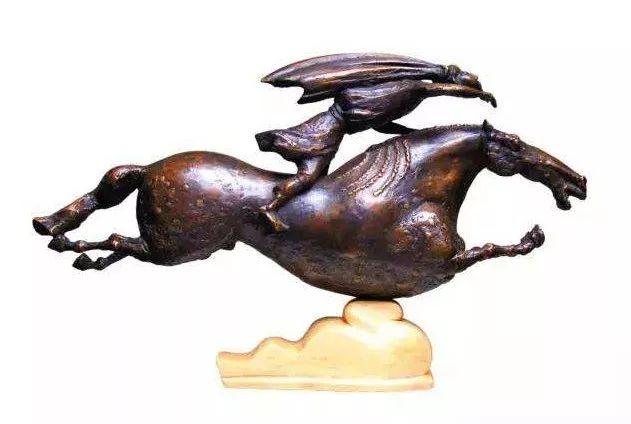 艺术家笔下的蒙古马•雕塑篇 第4张