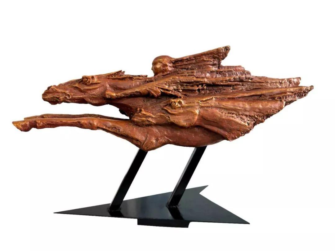 艺术家笔下的蒙古马•雕塑篇 第6张