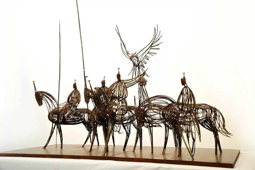 艺术家笔下的蒙古马•雕塑篇 第11张