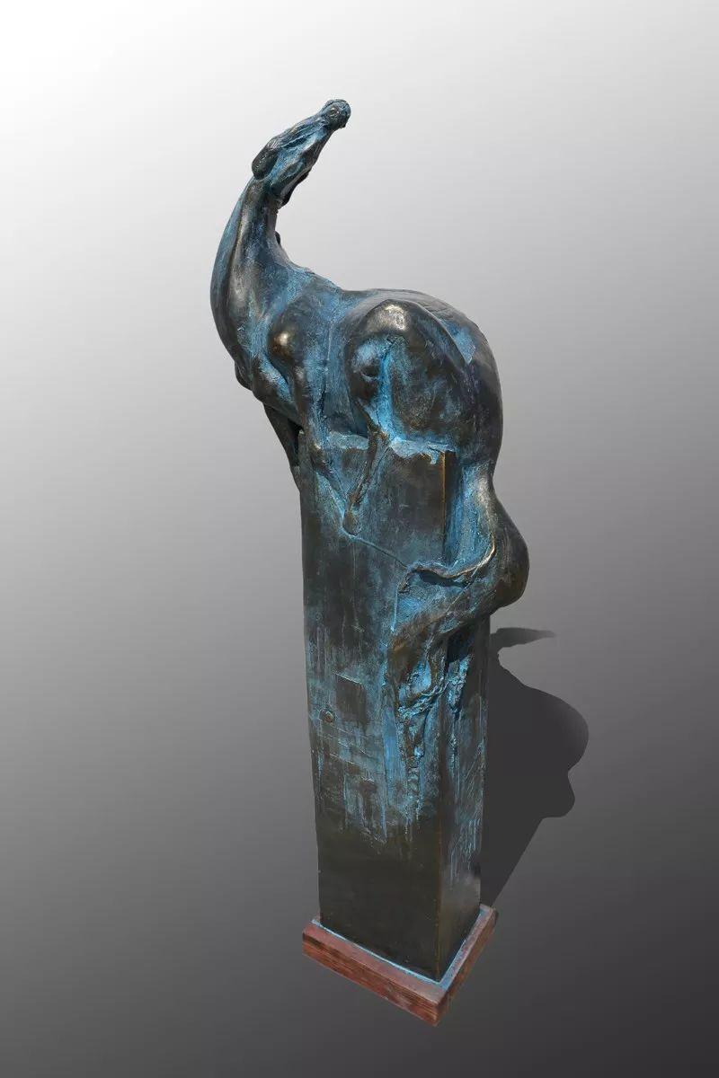 艺术家笔下的蒙古马•雕塑篇 第14张