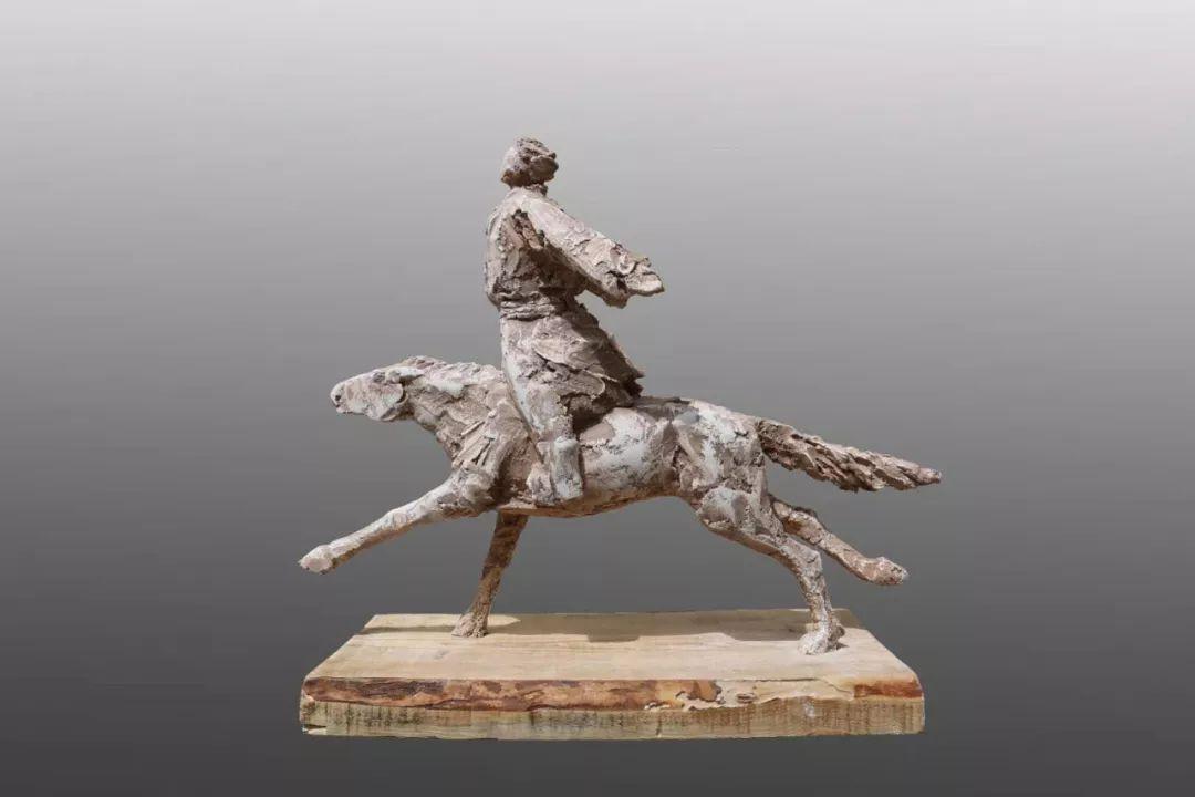 艺术家笔下的蒙古马•雕塑篇 第15张