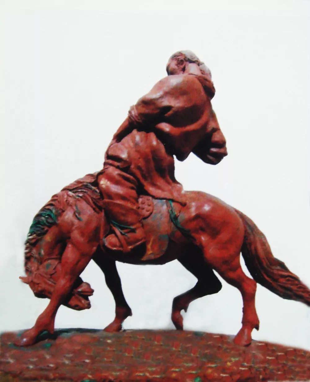 艺术家笔下的蒙古马•雕塑篇 第18张