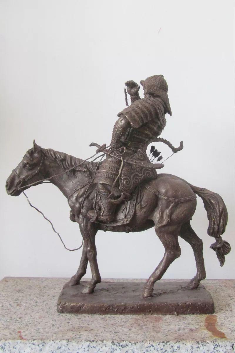 艺术家笔下的蒙古马•雕塑篇 第19张