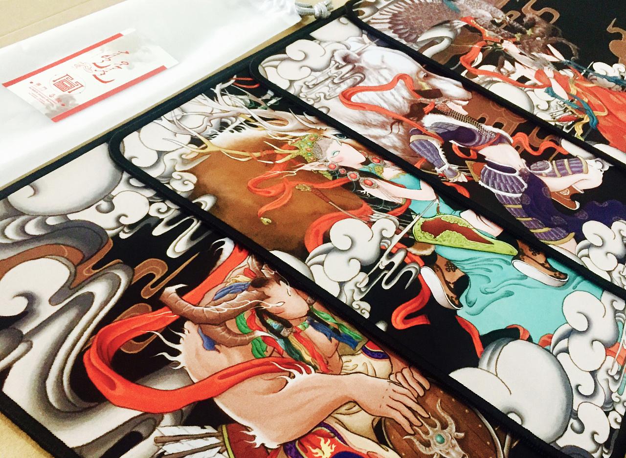 圖門·喜物 大型长卷蒙古族神话故事原创插画-《信仰》 第8张