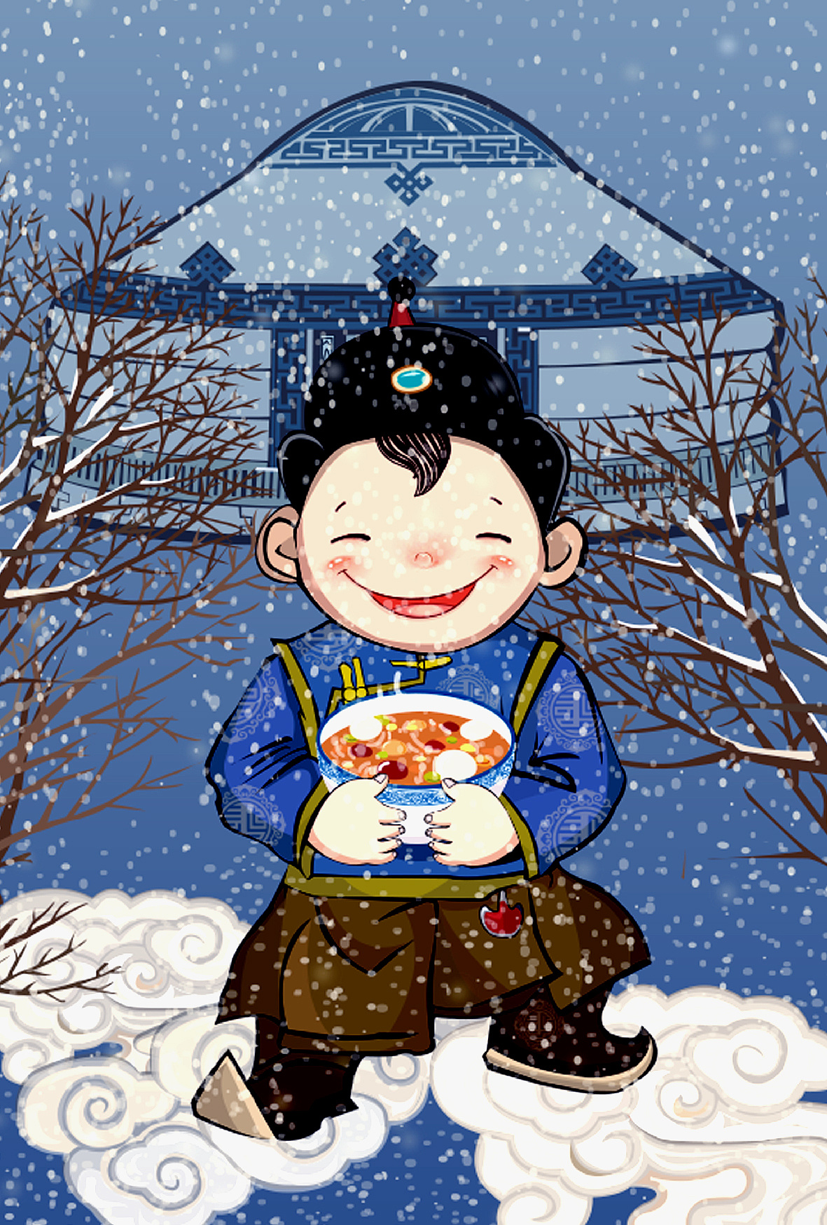 蒙古族小插画 第7张