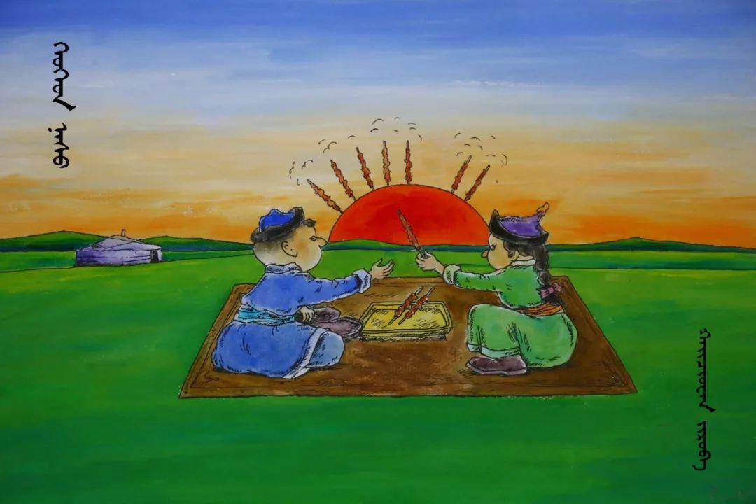 蒙古族漫画家海泉这一组作品令人脑洞大开 第2张