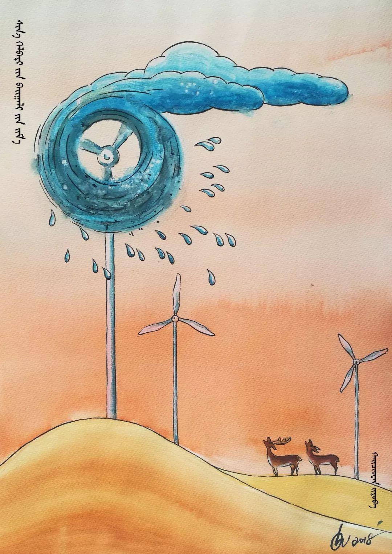 蒙古族漫画家海泉这一组作品令人脑洞大开 第15张