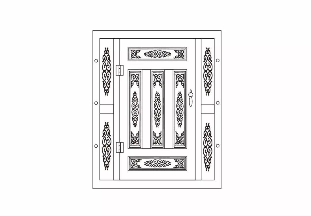 ONCH设计 - 蒙古元素 视觉设计 / 门 第3张