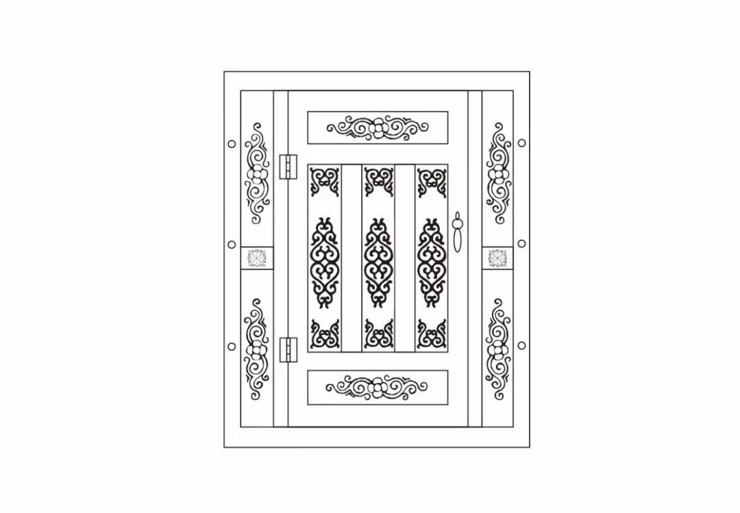 ONCH设计 - 蒙古元素 视觉设计 / 门 第5张