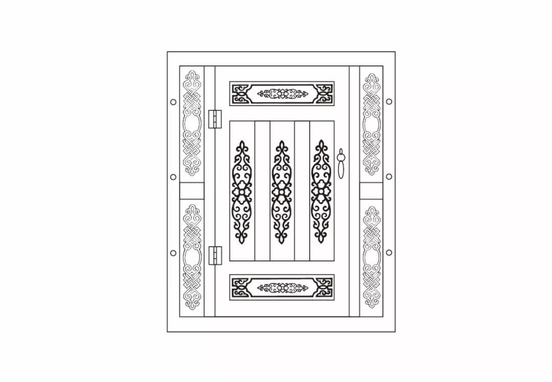ONCH设计 - 蒙古元素 视觉设计 / 门 第9张