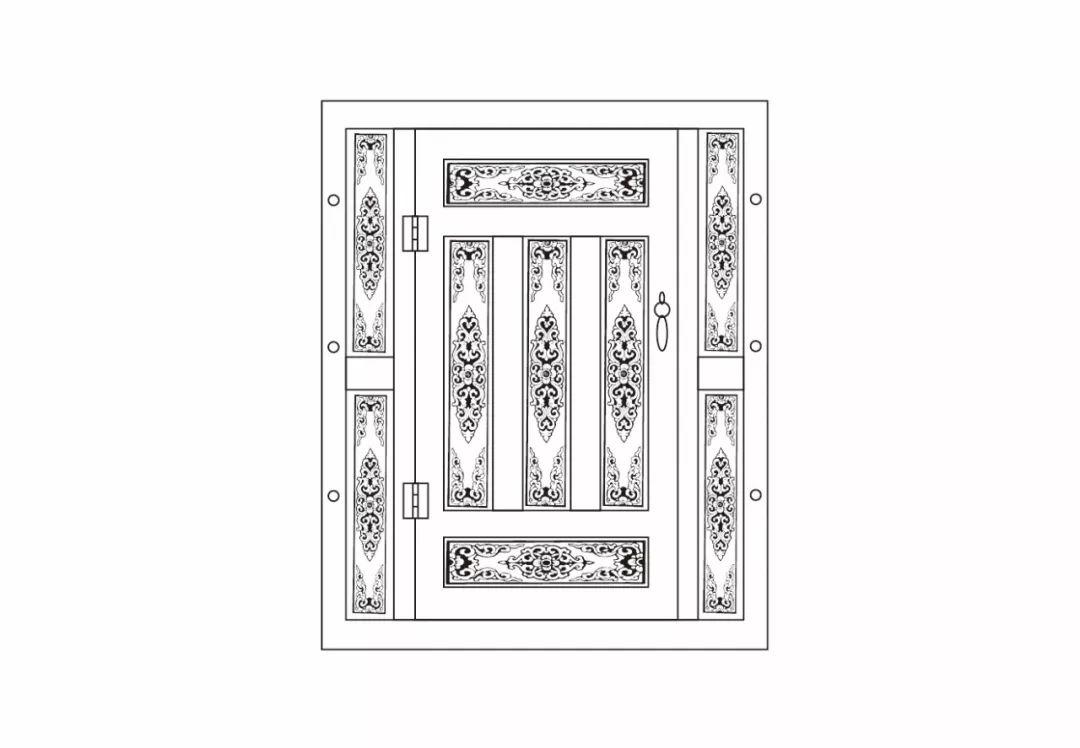 ONCH设计 - 蒙古元素 视觉设计 / 门 第7张