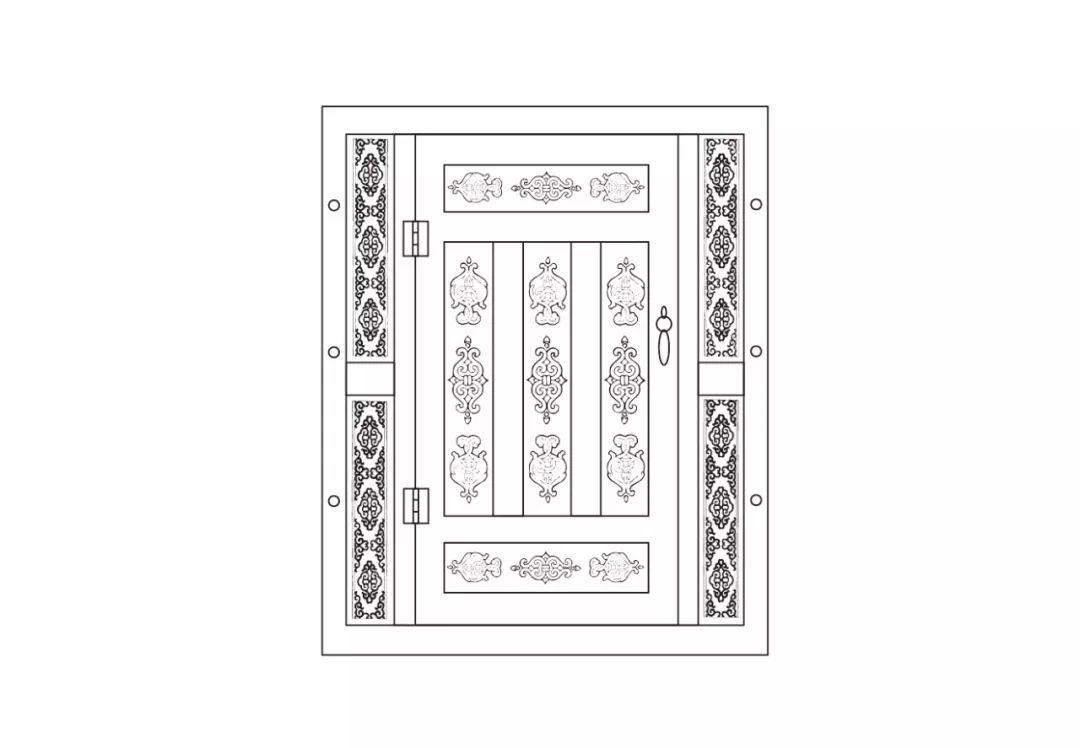 ONCH设计 - 蒙古元素 视觉设计 / 门 第11张