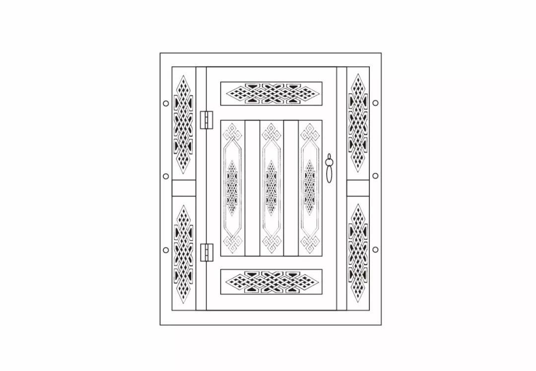 ONCH设计 - 蒙古元素 视觉设计 / 门 第13张