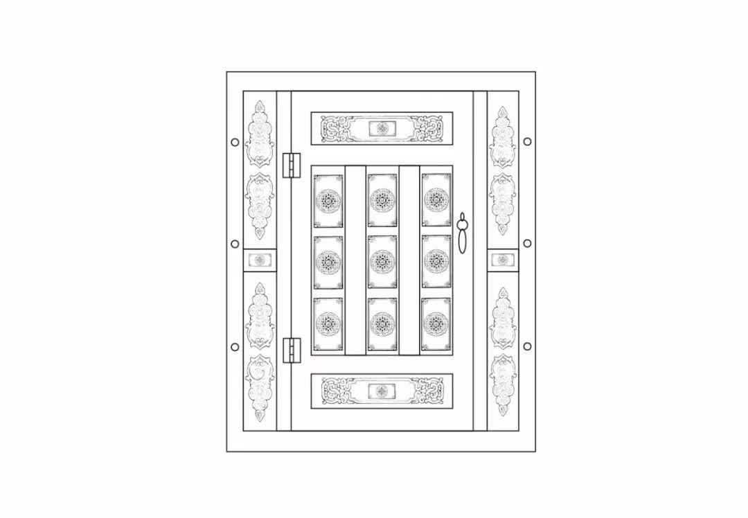ONCH设计 - 蒙古元素 视觉设计 / 门 第14张
