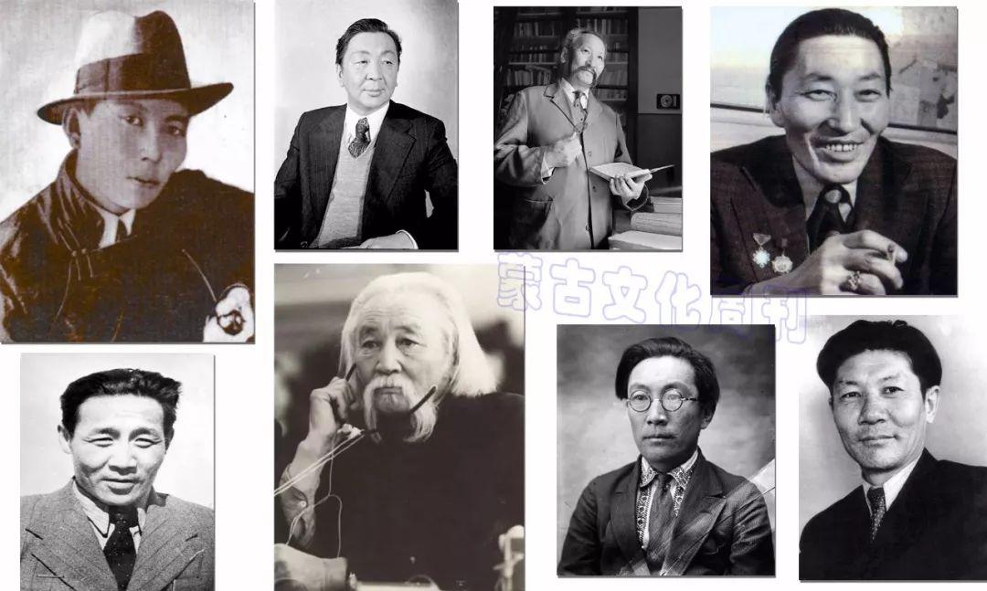 20世纪蒙古国启蒙思想家和大作家,值得收藏 第1张