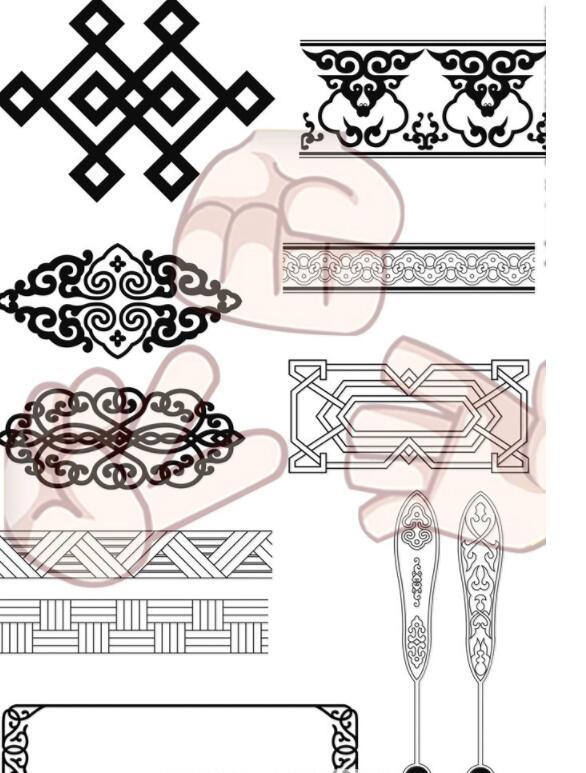 蒙古花纹合集图片3