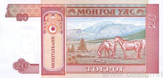 蒙央行新发行面值2万图格里克硬币 附蒙古国纸币历史变迁(组图) 第132张
