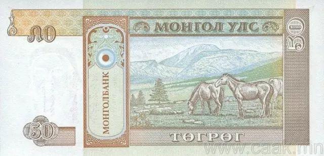 蒙央行新发行面值2万图格里克硬币 附蒙古国纸币历史变迁(组图) 第136张