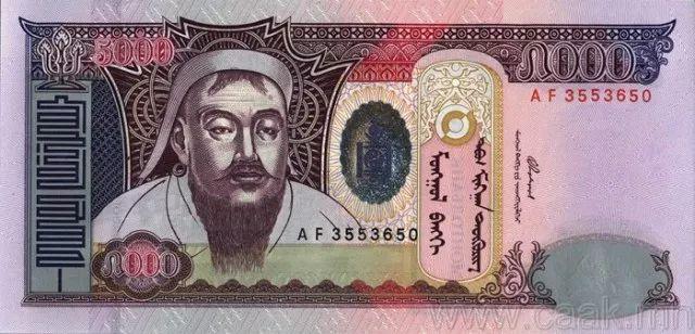 蒙央行新发行面值2万图格里克硬币 附蒙古国纸币历史变迁(组图) 第158张