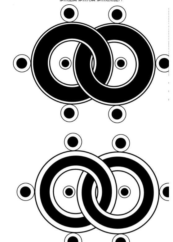 蒙古图案 蒙古元素 蒙古边框图片jpg