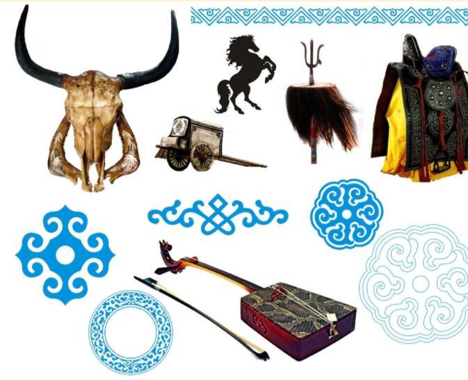 蒙古网页元素小集图片psd 第1张