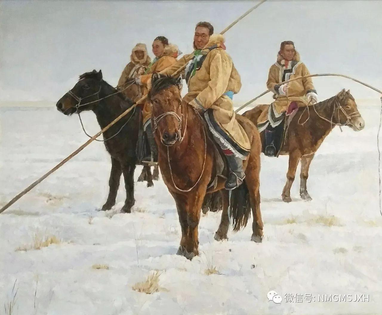 内蒙古美术新人新作展作品(一) 第3张