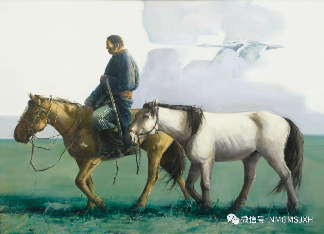 内蒙古美术新人新作展作品(一) 第18张