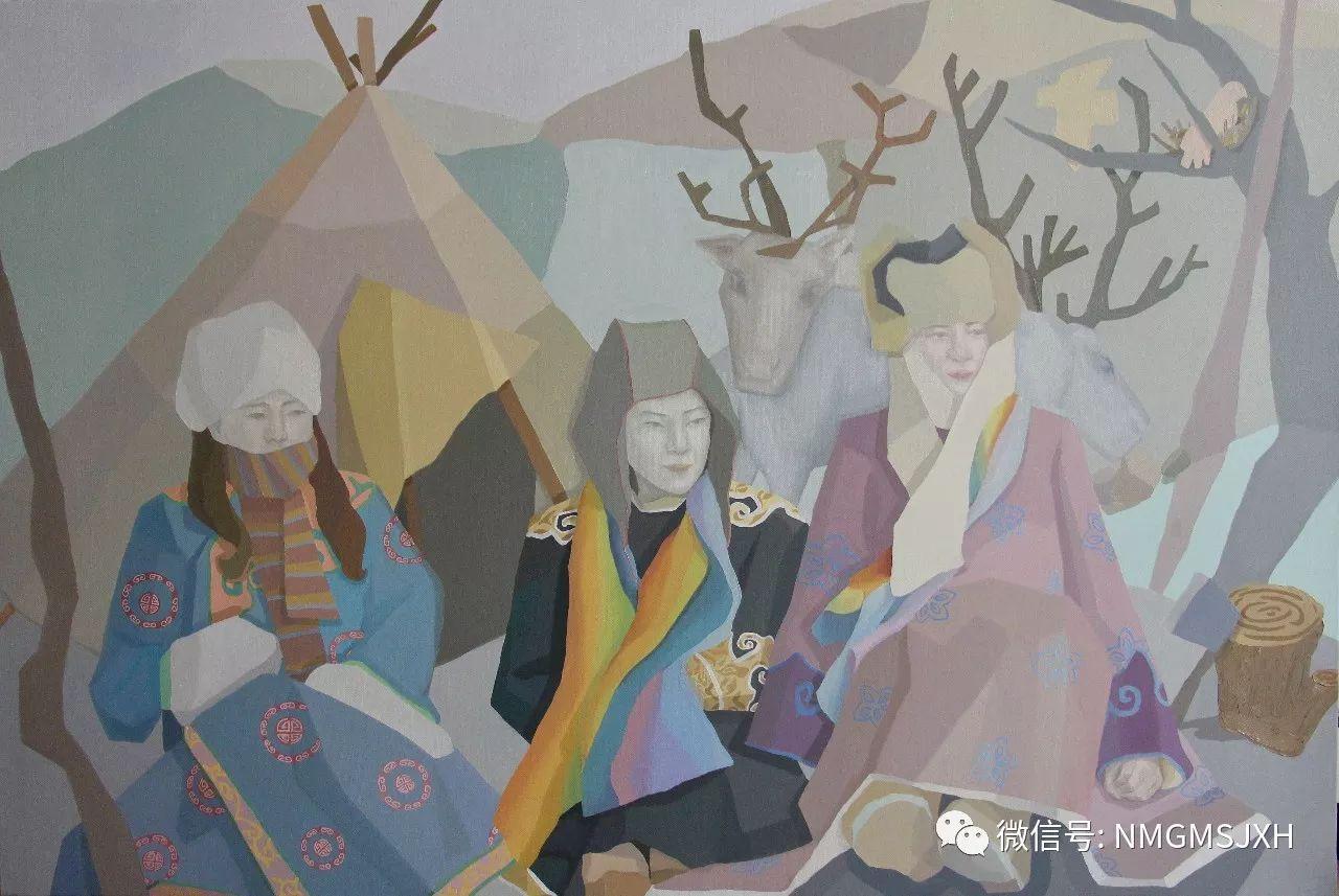 内蒙古美术新人新作展作品(一) 第23张