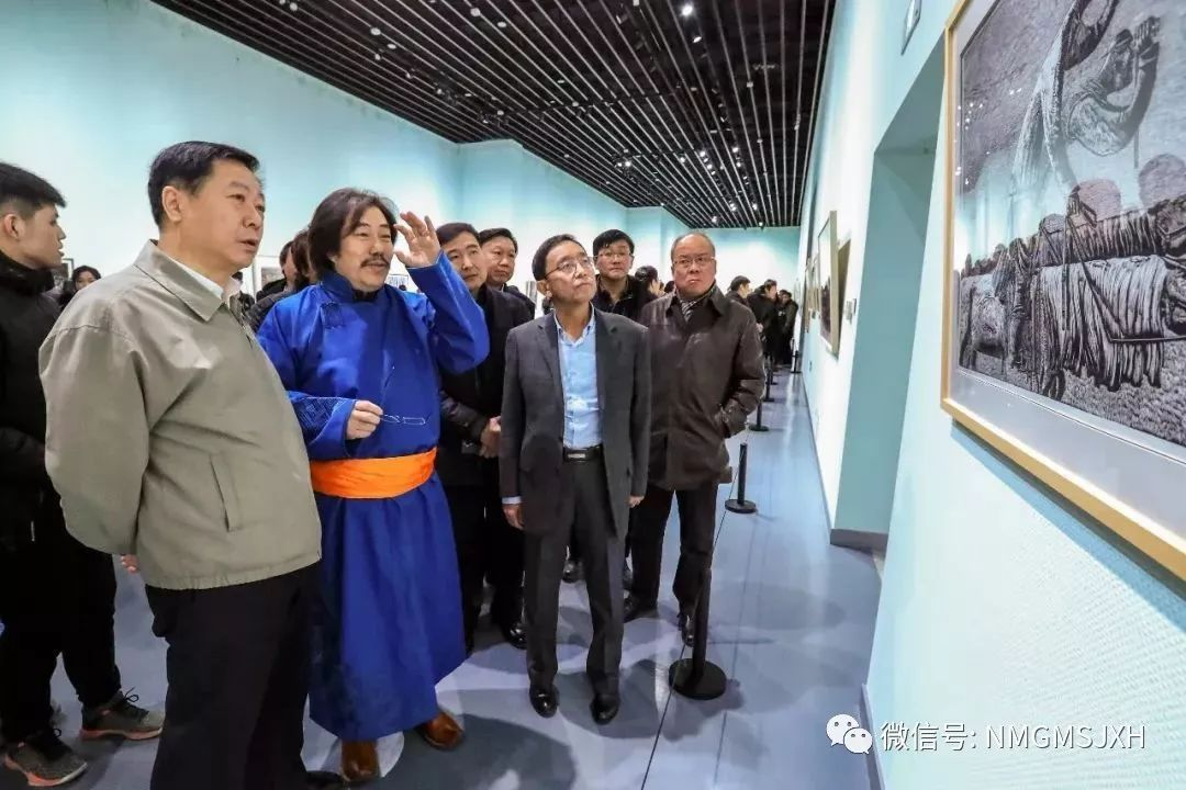 第三届内蒙古版画作品展览 在呼和浩特内蒙古美术馆开幕 第12张
