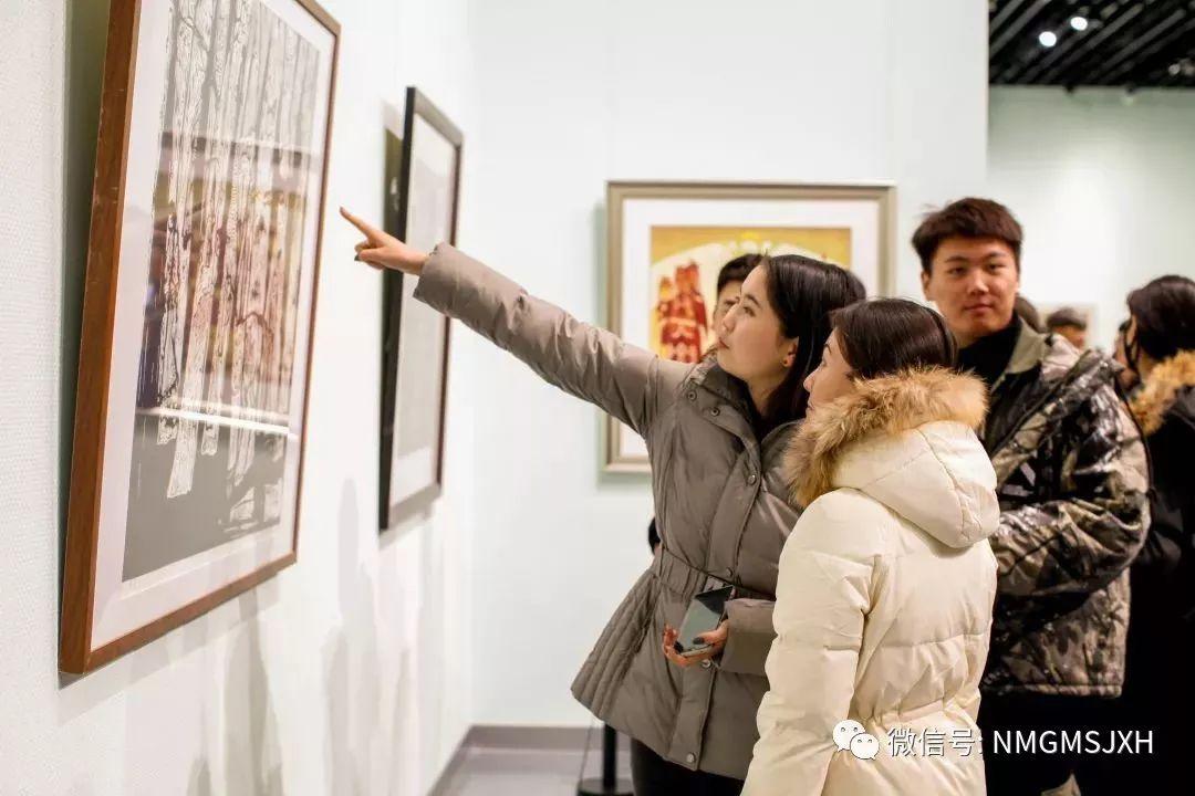 第三届内蒙古版画作品展览 在呼和浩特内蒙古美术馆开幕 第14张