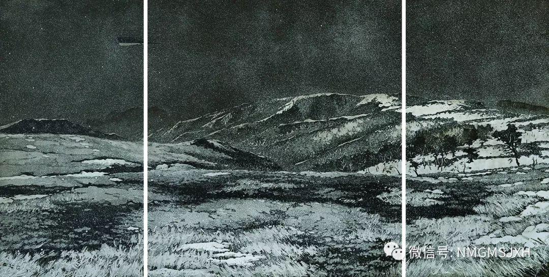 第三届内蒙古版画作品展览 在呼和浩特内蒙古美术馆开幕 第24张