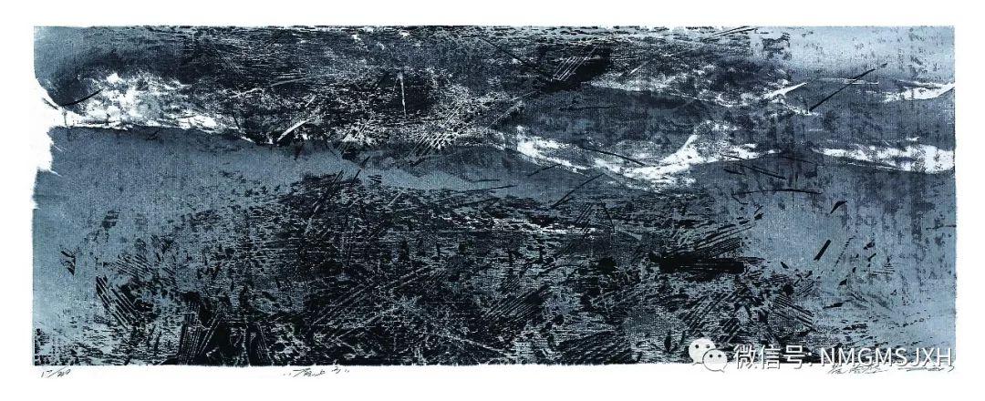 第三届内蒙古版画作品展览 在呼和浩特内蒙古美术馆开幕 第35张