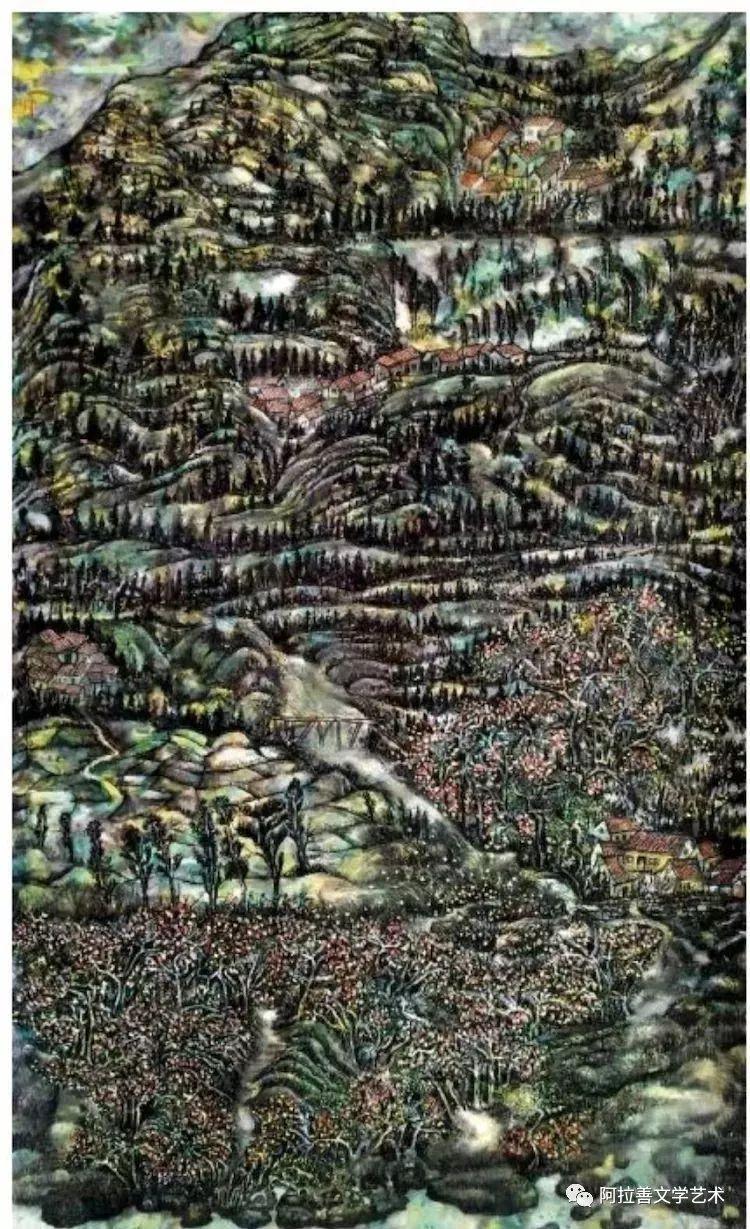 展讯:内蒙古美术名家作品展将于5月28日开展 第7张
