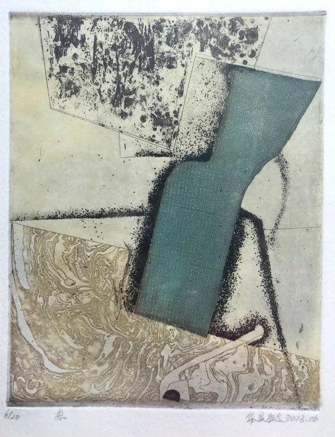 【作品选登】赛罕区美术家协会常灵龄版画作品欣赏 第2张