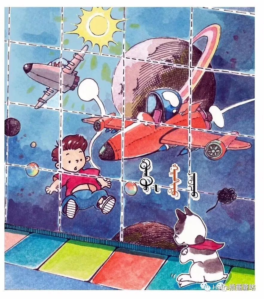 访谈 |蒙古族插画家阿拉坦苏那嘎的创作故事 第17张