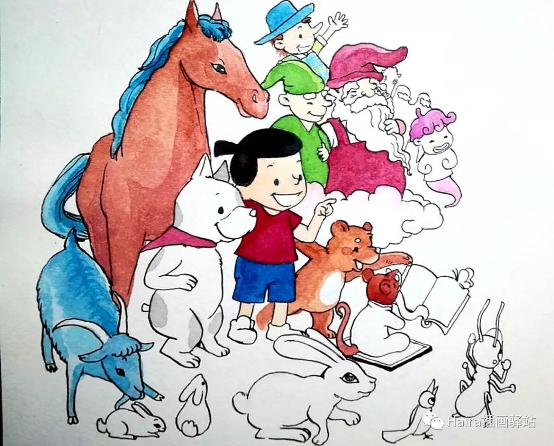 访谈 |蒙古族插画家阿拉坦苏那嘎的创作故事 第18张