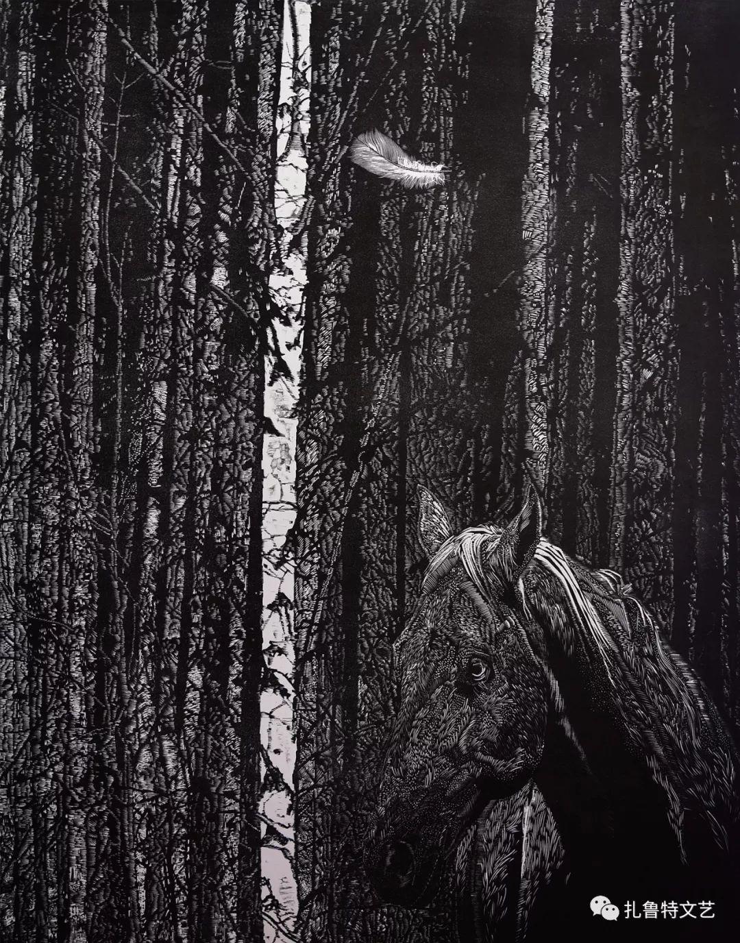 吉日木图,惊世版画 第3张