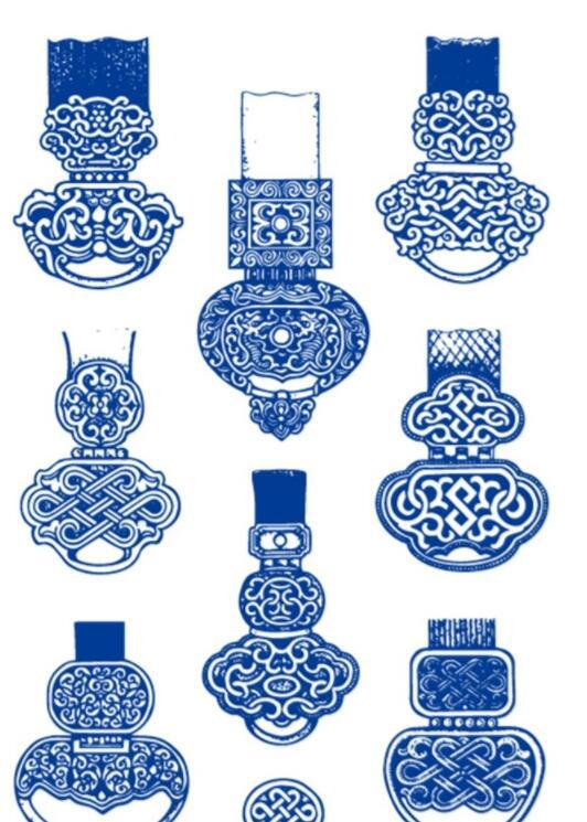 民族腰带装饰品图片