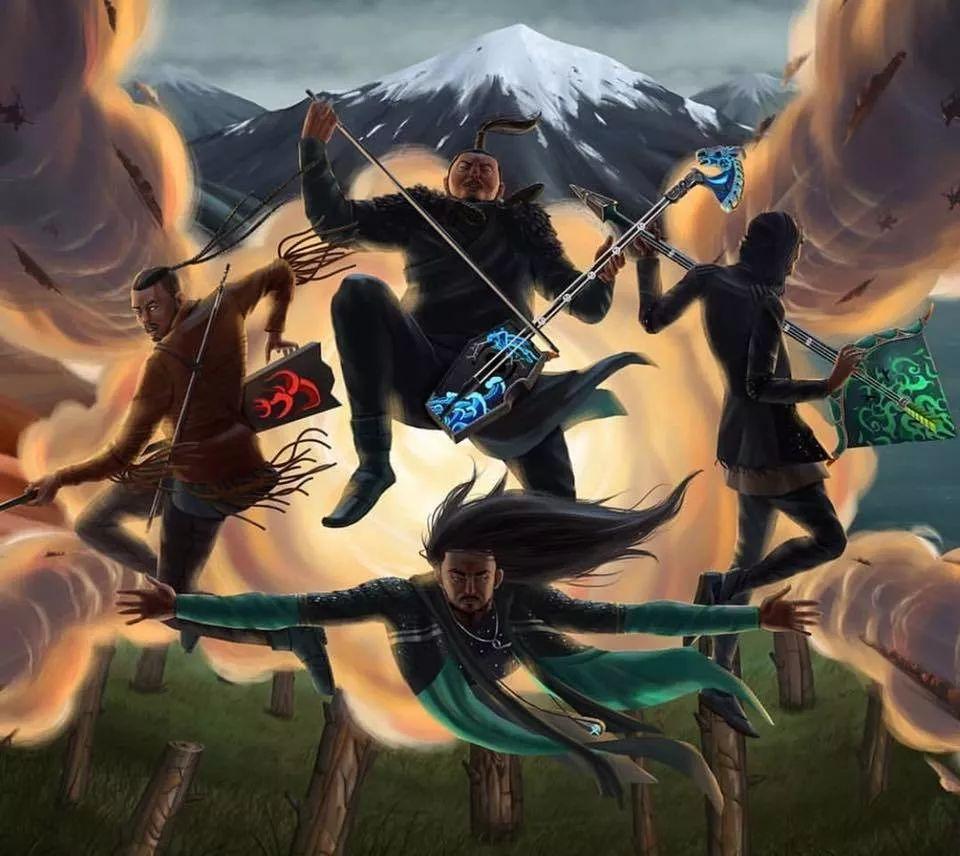 【蒙古音乐】THE HU乐队第三首新歌《Shoog Shoog》震撼来袭! 第1张