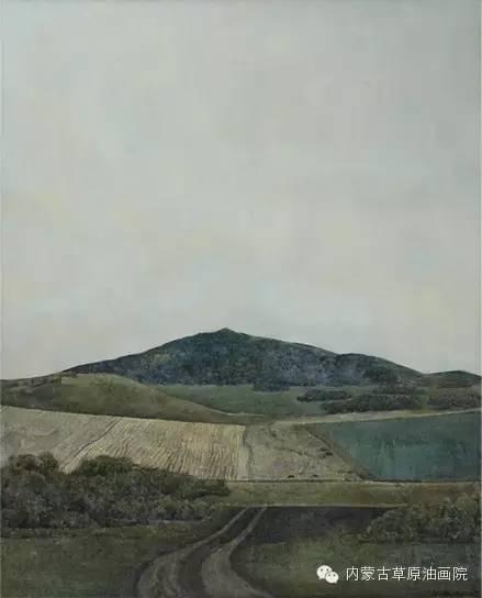 内蒙古草原油画院画家--李鑫 第2张