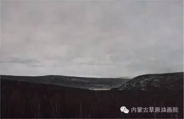 内蒙古草原油画院画家--李鑫 第4张