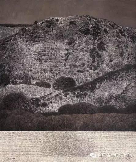 内蒙古草原油画院画家--李鑫 第5张