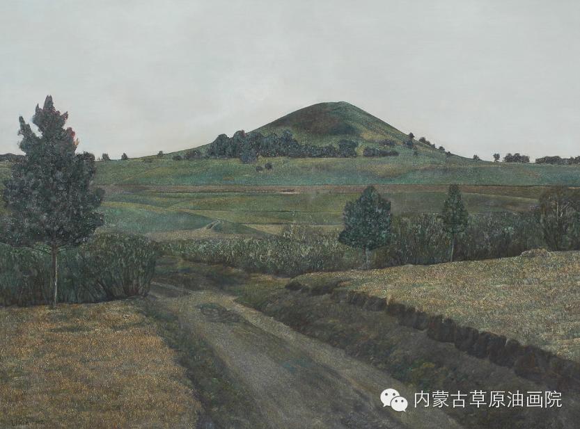 内蒙古草原油画院画家--李鑫 第8张