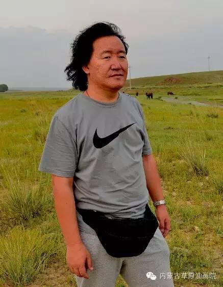 内蒙古草原油画院画家--王耀中 第1张